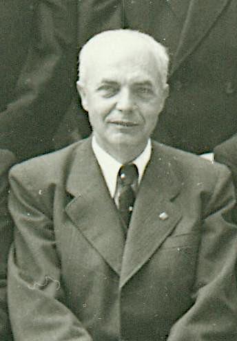 OSR Franz Pazdera im Jahr 1955