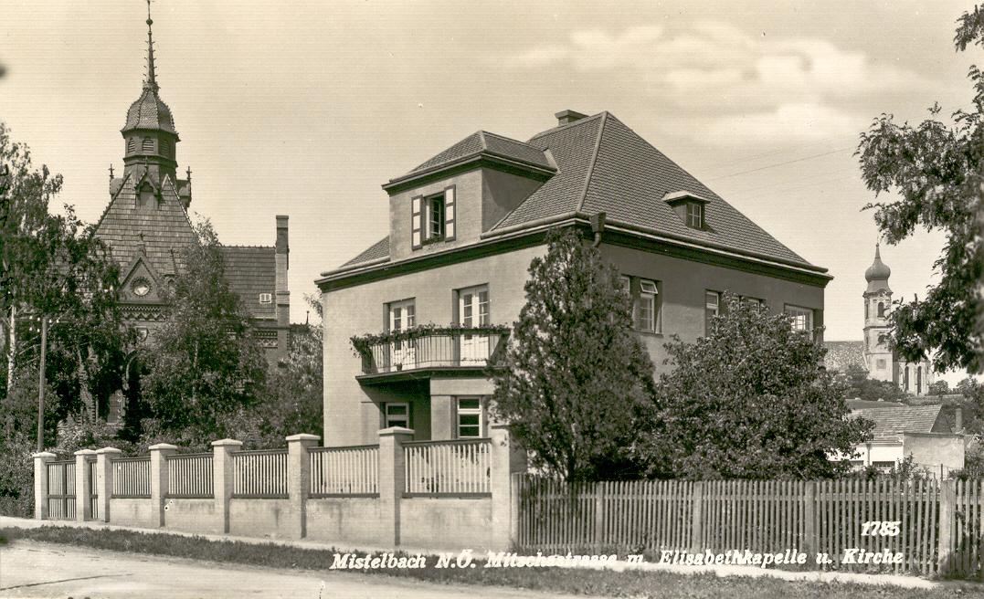 Die Steinbauervilla in der Mitschastraße