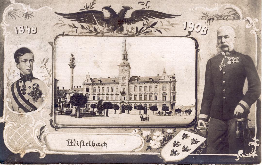 Postkarte herausgegeben anlässlich des 60-jährigen Regierungsjubiläums